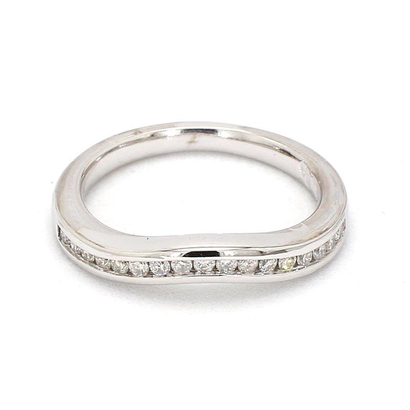 1/3ct Curved Diamond Band