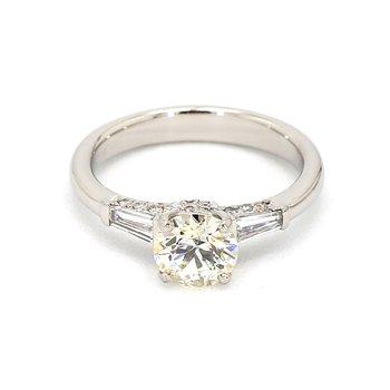 1 1/2ct Diamond Engagement Ring