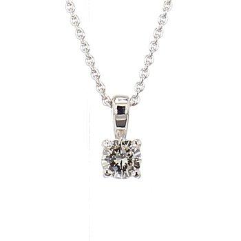 1/10ct Diamond Pendant