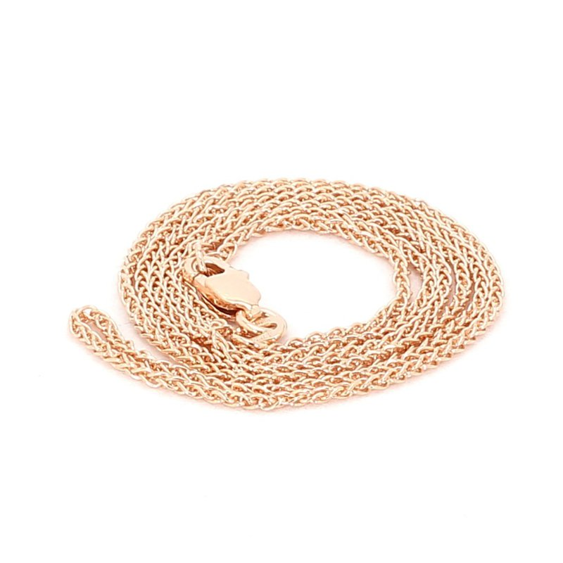 """14KR 1.25MM Wheat Chain 16"""""""