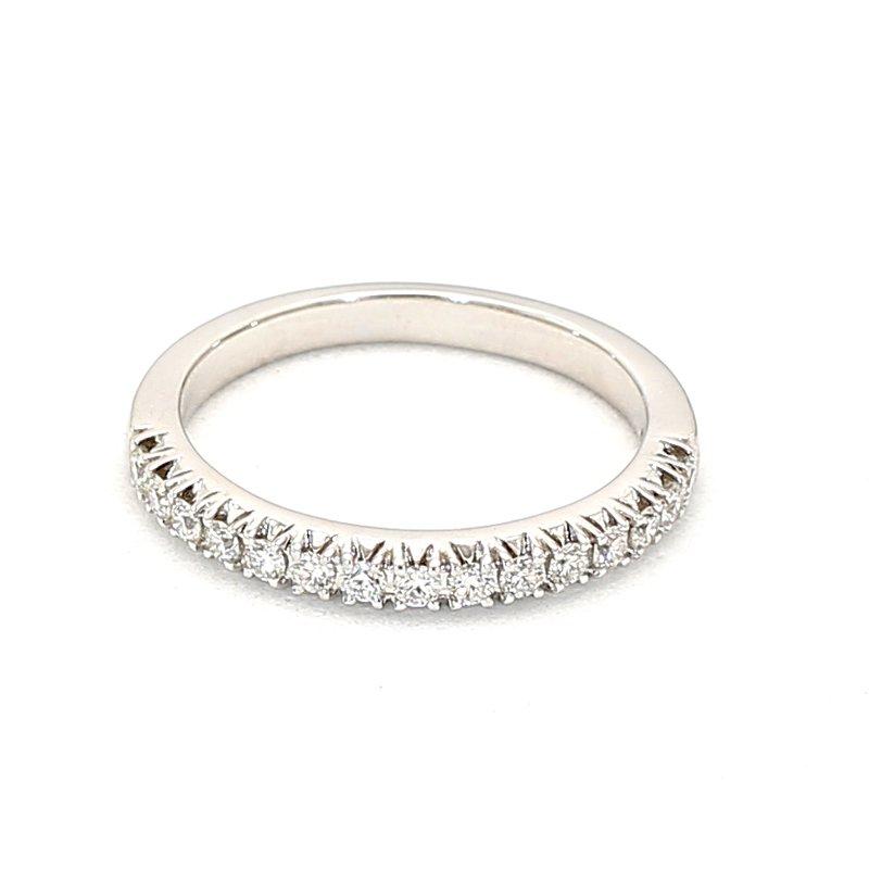 1/3ct Diamond 15 Stone Smart Eternity Ring