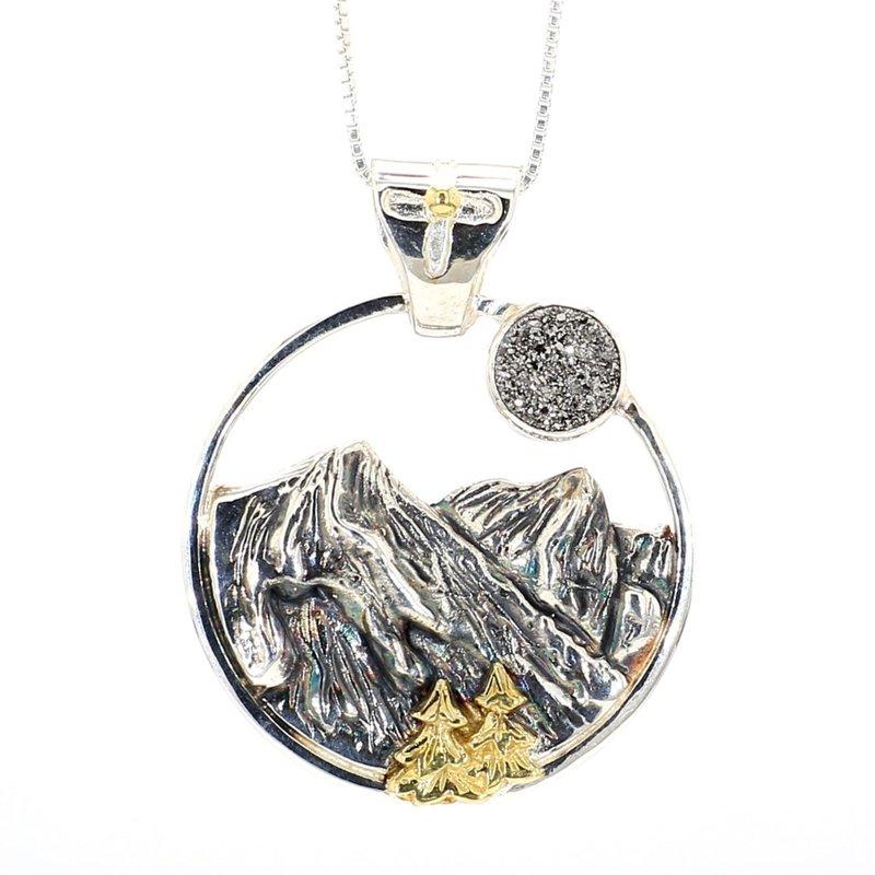 Blue Ridge Mountain Necklace
