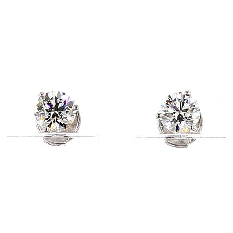 1 1/5ct Diamond Stud Earrings