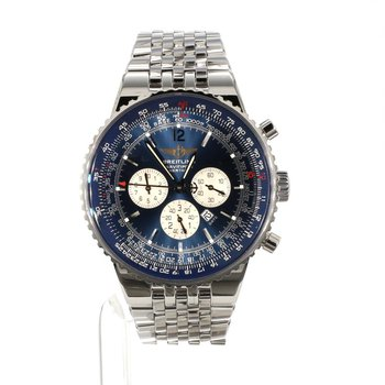 Breitling Navitimer Heritage Blue Dial Chronograph A35350