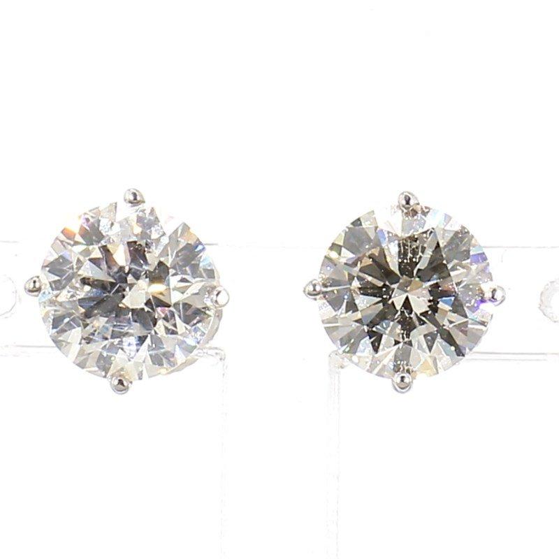 3ct Diamond Stud Earrings