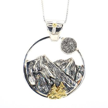 Blue Ridge Mountain Necklace