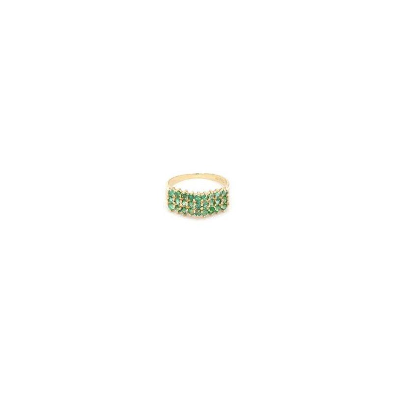 1/2ct Emerald Design Estate Ring