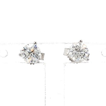 3/4ct Diamond Stud Earrings