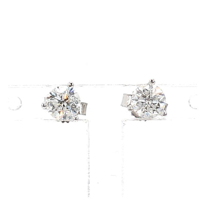 3/4ct Diamond Stud Earrings