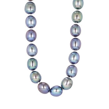 "Opera Length 64"" Grey Pearl Strand"
