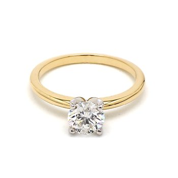 1.0ct Diamond Solitaire Engagement Ring