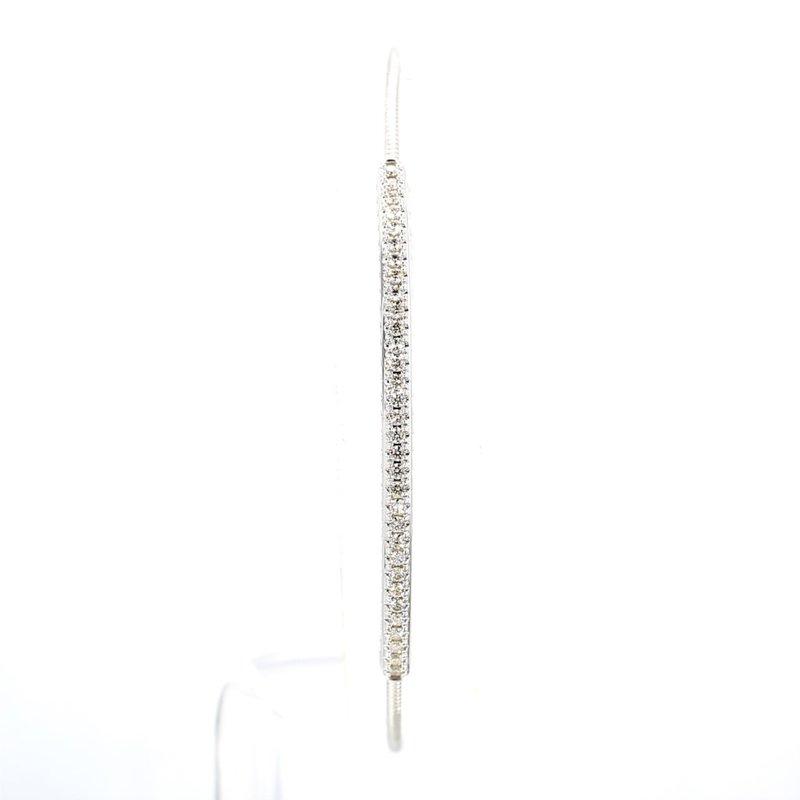 1/2ct Diamond Bangle Bracelet