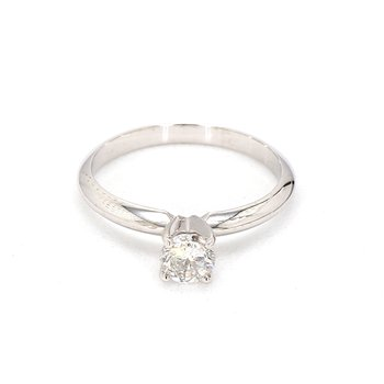 1/2ct. Round Diamond Engagement Ring