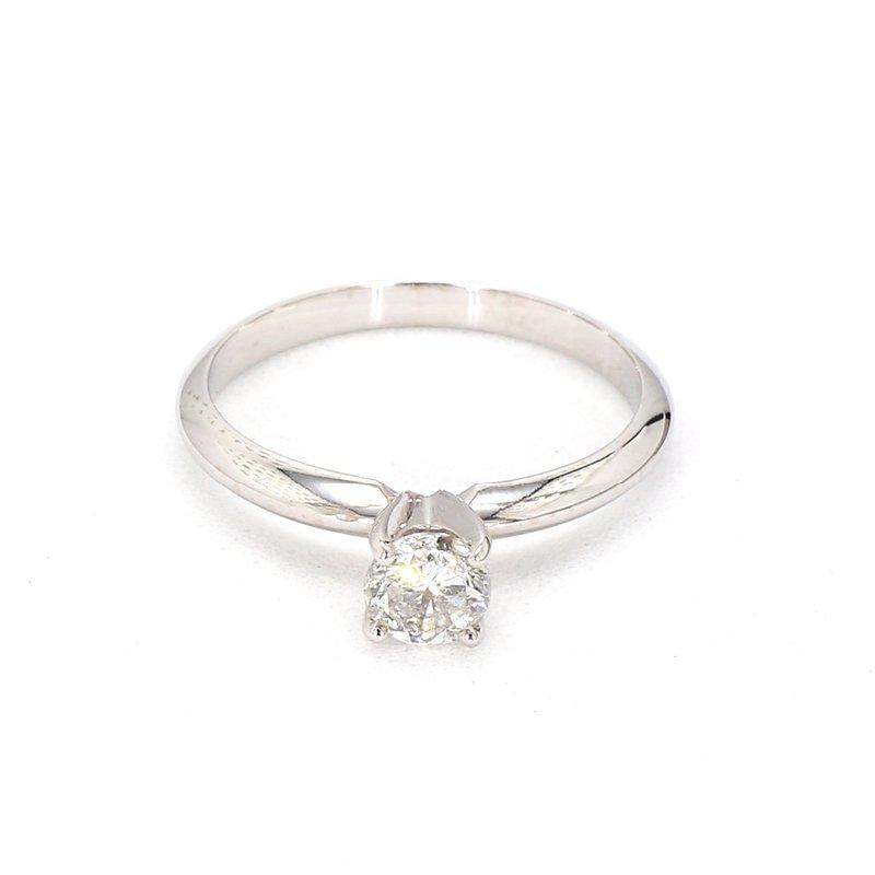1/2ct. Round Diamond Engagement Ring