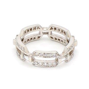 .75ct Vera Wang Eternity Link Ring