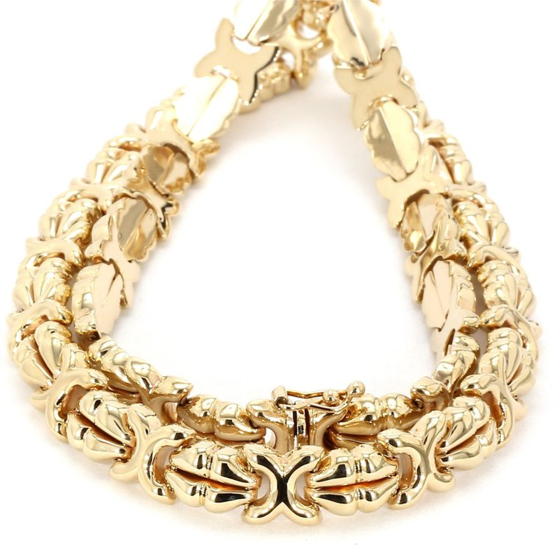 17' X Style 8mm Wide Necklace