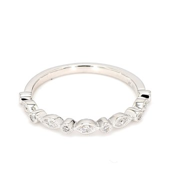 .08 Carat Diamond Wedding Band