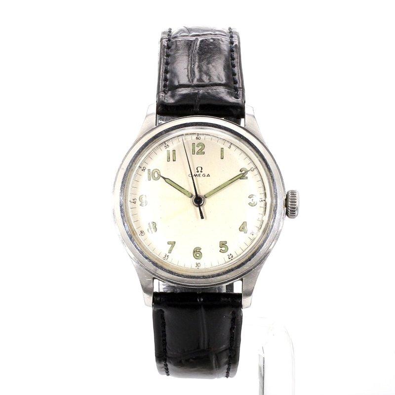 Vintage Omega Silver Dial