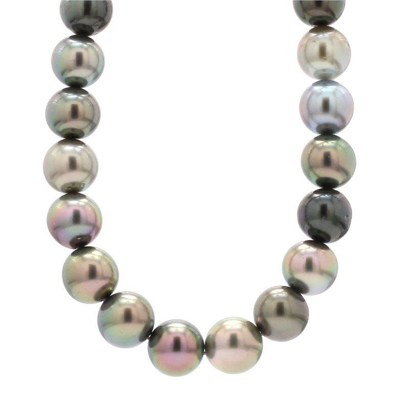 Multi Tahitian Pearl Necklace
