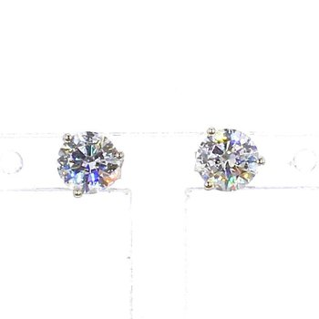 1  Carat Diamond Stud Earrings