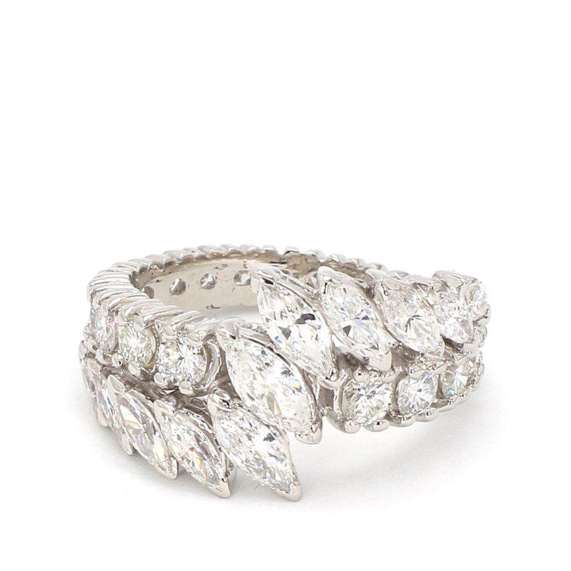 2 9/10ct 30 Stone Diamond Ring