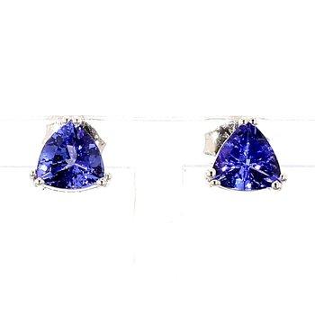 1 1/2ct Tanzanite Stud Earrings