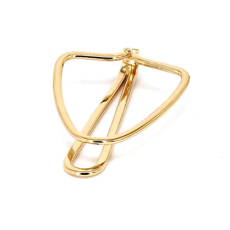 Tiffany & Company 14 Karat Yellow Gold Money Clip