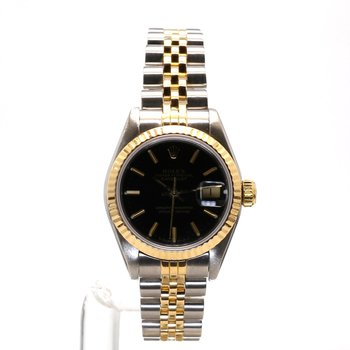 18K & Stainless Oyster Perpetual Datejust - Ladies Small Sized