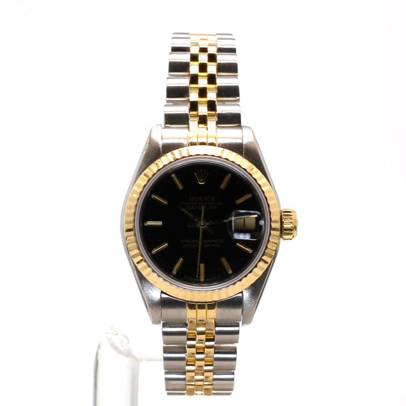 18K & Stainless Oyster Perpetual Datejust - Small Sized