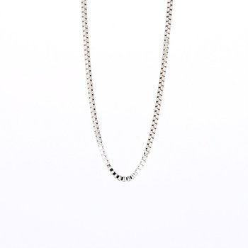Sterling Silver Box Chain 20""