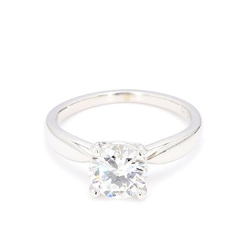 1.42 Carat Solitaire Diamond Engagement Ring