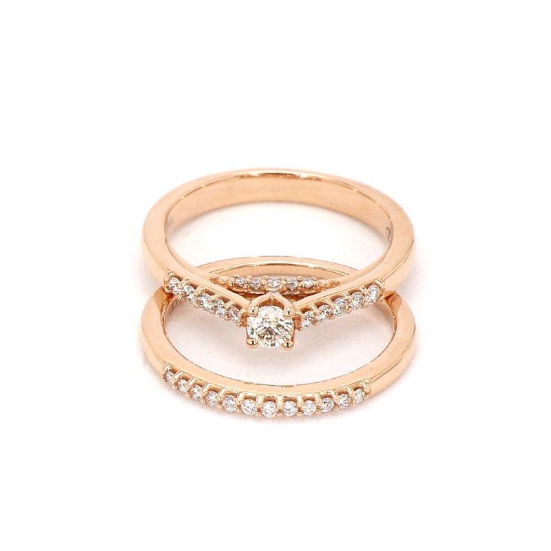 .50 Carat Diamond Rose Gold Engagement Ring