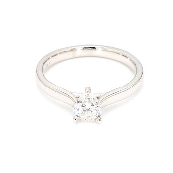 .58 Carat Pear Shape Diamond Solitaire Engagement Ring