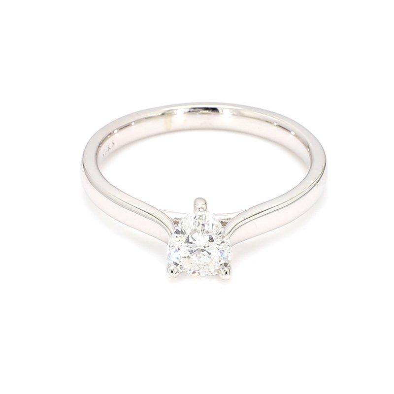 .58 Carat Pear Shape Diamond Solitaire Engagement Ring