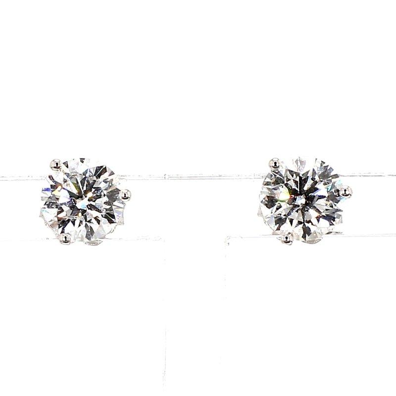 1 1/2 Carat Diamond Stud Earrings
