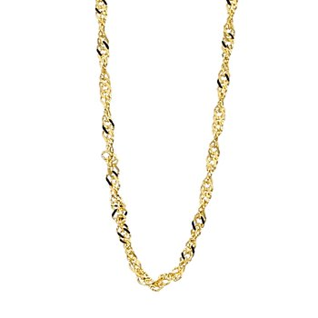 """14KY 1.15MM Singapore Chain 18"""""""