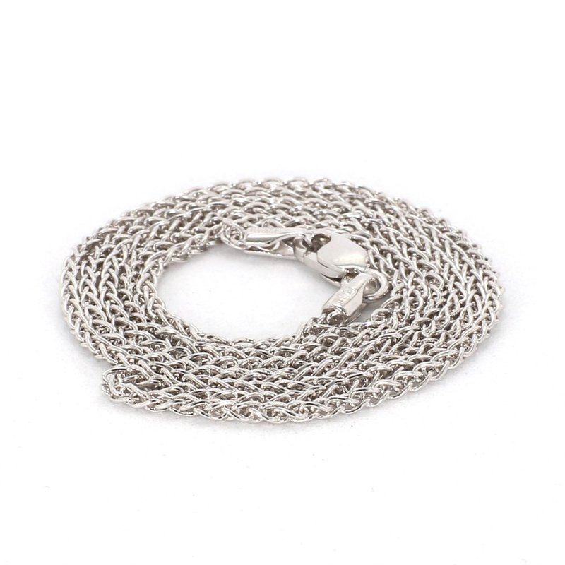 """Sterling Silver 1.65MM Wheat Chain 18"""""""