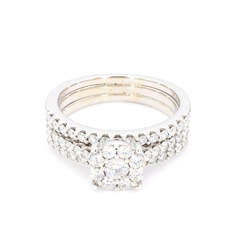 1.18 Carat Diamond WeddingRing Set