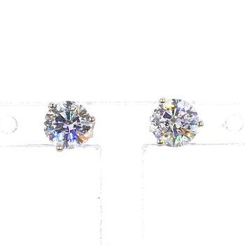 1.0CT Diamond Stud Earrings