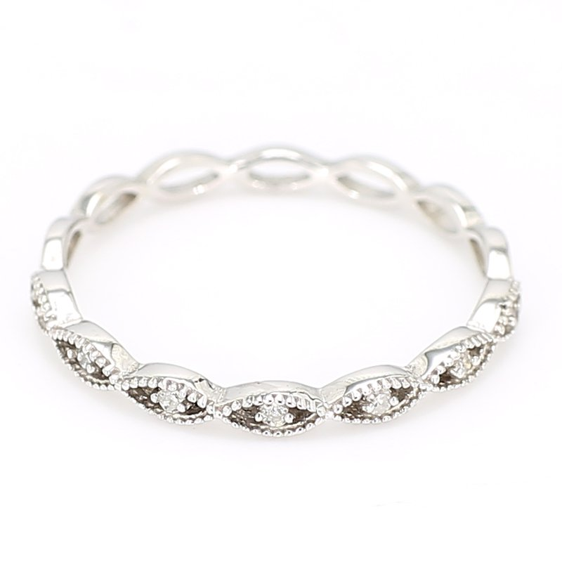 .04 Carat Diamond Anniversary Ring