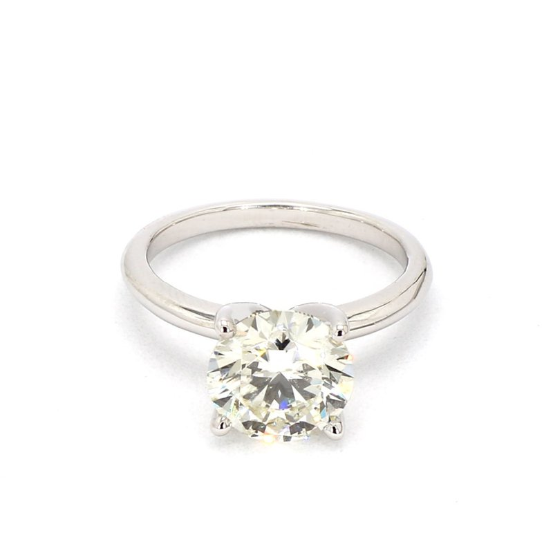 3ct Solitaire Laboratory Grown Diamond Engagement Ring