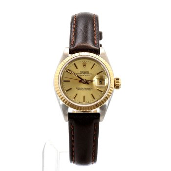 Stainless Steel & 14K Ladies Small Sized Datejust