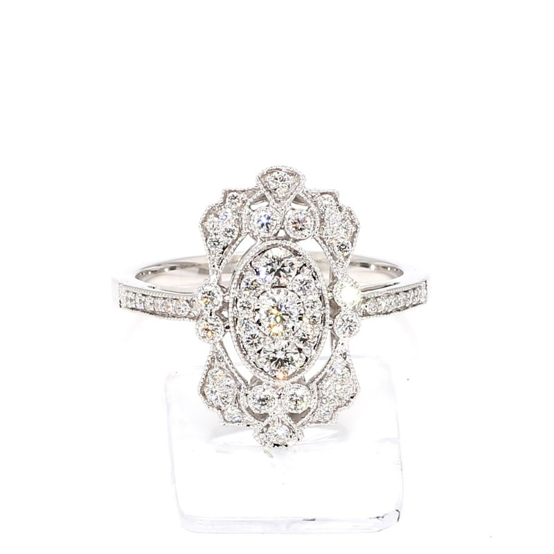 .50 Carat Diamond Vintage Inspired Design Ring