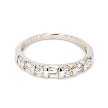 1/2ct Diamond Channel Set Ring