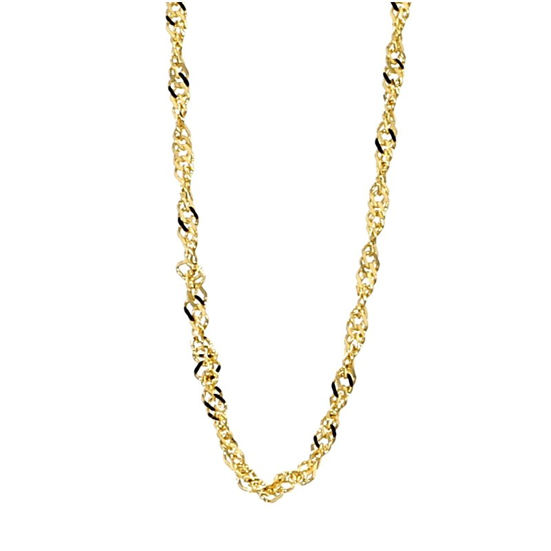 """14KY 1.15MM Singapore Chain 20"""""""