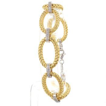 """Mesh Oval Link Bracelet 7.5"""" x  4.10mm"""