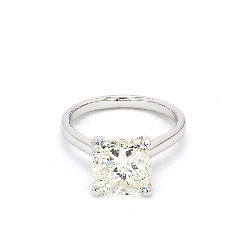 4.38ct Solitaire Engagement Ring