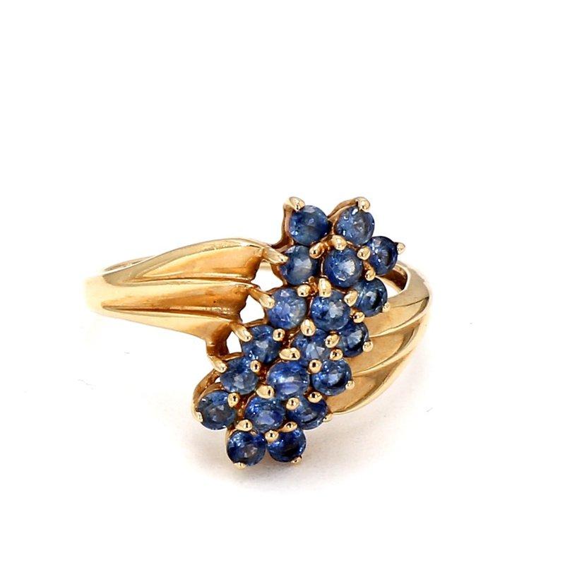 1 1/4ct Blue Sapphire Ring