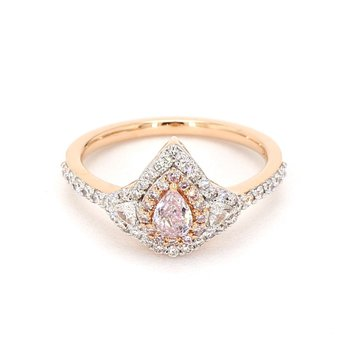 .79 Carat Pink Diamond Engagement Ring