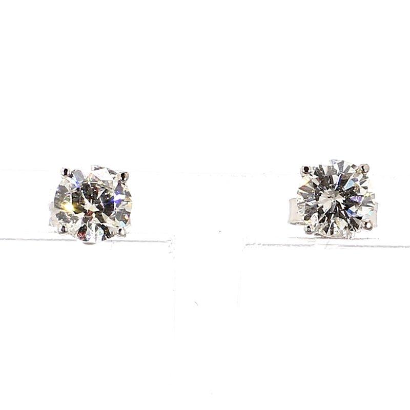 1 1/10ct Diamond Stud Earrings